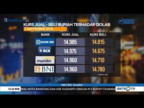 Lagi ! Jumat Siang Rupiah Menguat Ke Rp14.859 Per Dollar AS !