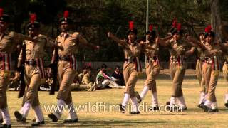 Stride with pride - NCC cadets perform march past in India
