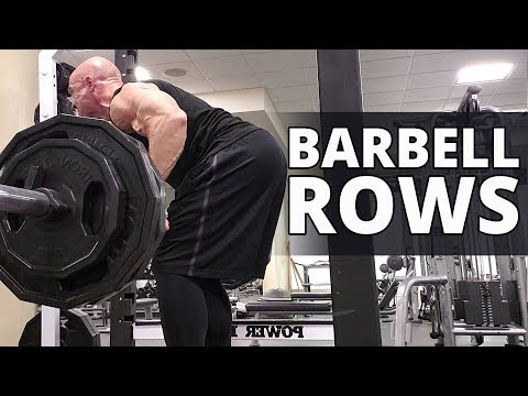 Barbell Rows - Step By Step Explanation - Workouts For Older Men thumbnail