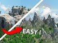 Easy Trick To Making EPIC Minecraft Landscape!
