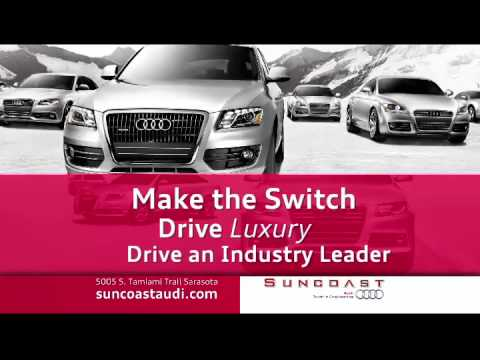 Drive An Industry Leader At Suncoast Audi YouTube - Suncoast audi