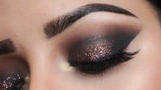 Easy Glitter Smokey Eyes (HINDI) | Deepti Ghai Sharma
