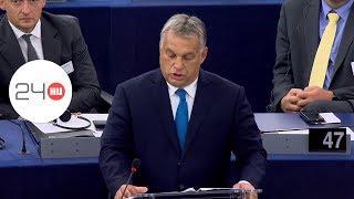 Így védekezett Orbán az Európai Parlamentben | 24.hu
