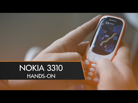 The NOKIA 3310 is Back! - Hands-On | MWC 2017