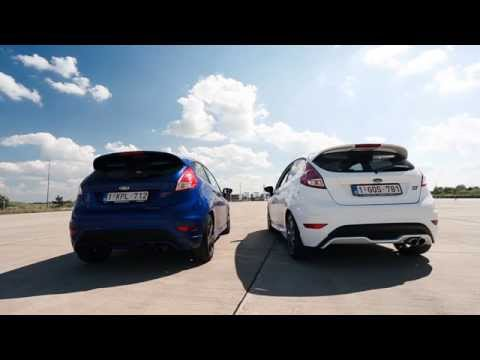 Ford Fiesta ST Mountune Exhaust Sound (Comparison vs. stock exhaust)