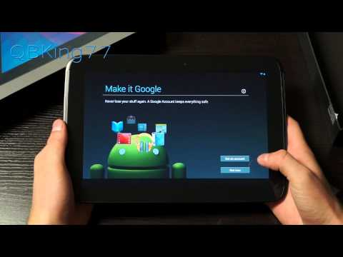 Google Nexus 10 Unboxing and First Impressions