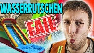 Vater kracht auf Wasserrutsche!!! Torgshow #110