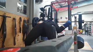 Pin lockout 101kg 27 February 2018