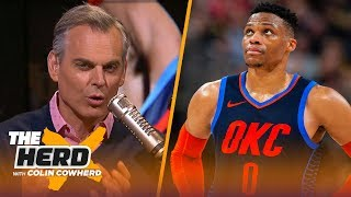 Colin Cowherd says OKC are falling apart, doesn't see why Doc would leave Clippers | NBA | THE HERD