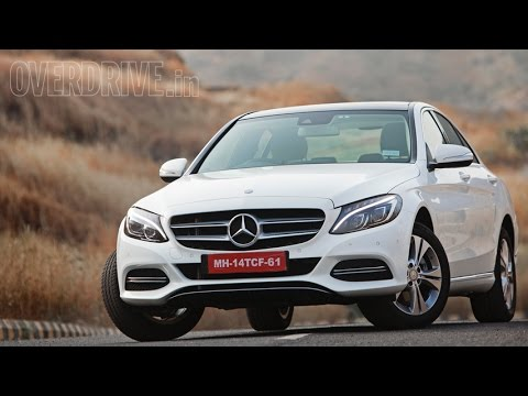 2015 Mercedes Benz C-Class C200 W205 - Road Test Review (India)