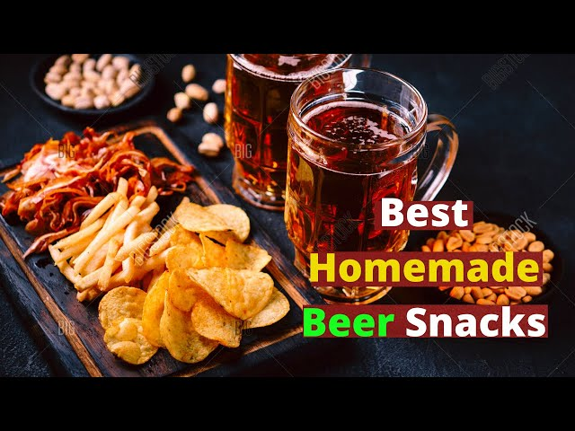Best Homemade Beer Snacks || More than just Nuts