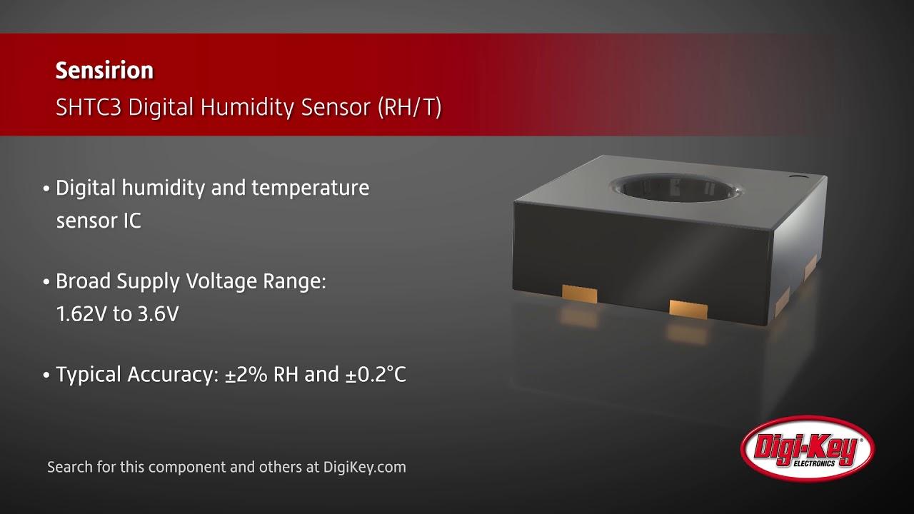Sensirion SHTC3 Digital Humidity Sensor | Digi-Key Daily