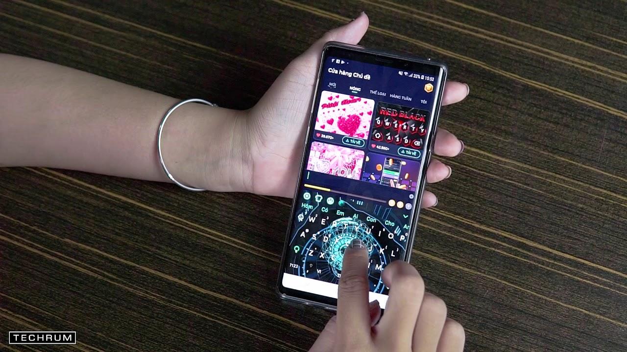 Độ bàn phím 3D cực chất cho Smartphone Android| TECHRUM VN