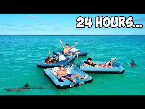 Surviving 24 Hours In The Ocean!