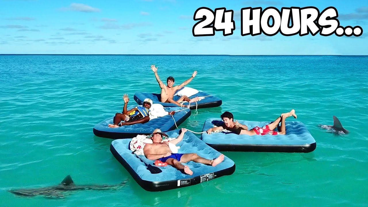 Download Surviving 24 Hours In The Ocean!