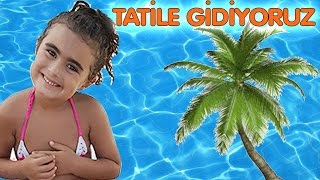 Mira ve Ege ile Tatil Yolculugu Vlog UmiKids