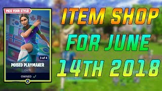 I ACCIDENTALLY BOUGHT A SKIN! Fortnite Item Shop June 14th!