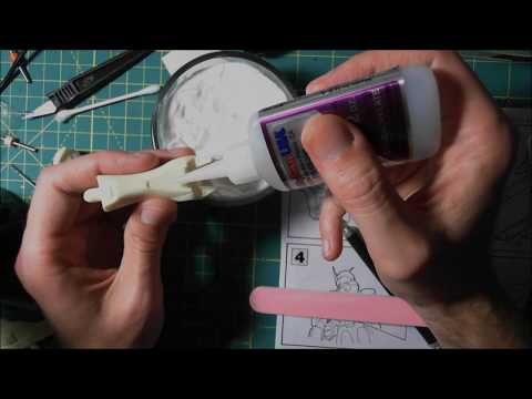 Filling resin gaps, cracks & flaws the easy fast way