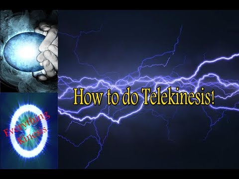 How To Do Telekinesis For Beginners (REAL)