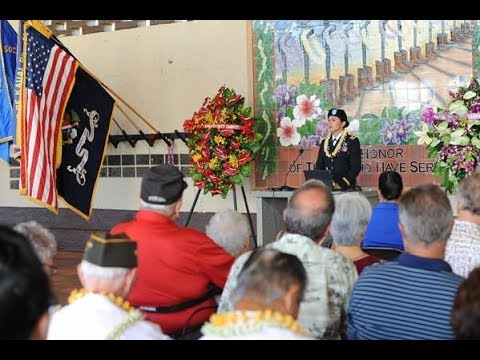 Memorial Day Keynote Address by Rep. Tulsi Gabbard at Kauai Veterans Cemetery - May 29, 2017