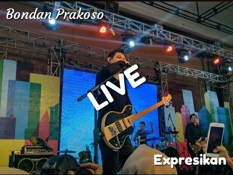 Bondan Prakoso ~ Expresikan || LIVE Perpisahan SMA N 1 Petarukan || Eza Ikhsani