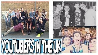 YOUTUBERS TAKE OVER LONDON | RICKY DILLON