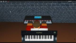 ballad for Adeline - Piano and Orchestra by: P.S.  & O.T. there ROBLOX piano.