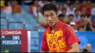 China vs. Sweden - Table Tennis, Bronze Medal Match, 2008 Beijing Olympics