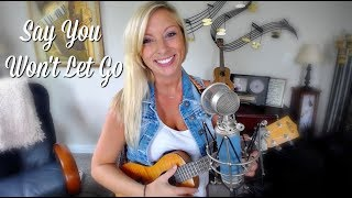 Say You Won't Let Go - James Arthur - Ukulele Cover Mp3
