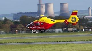 Thames Valley Air Ambulance at Abingdon 3rd May 2015