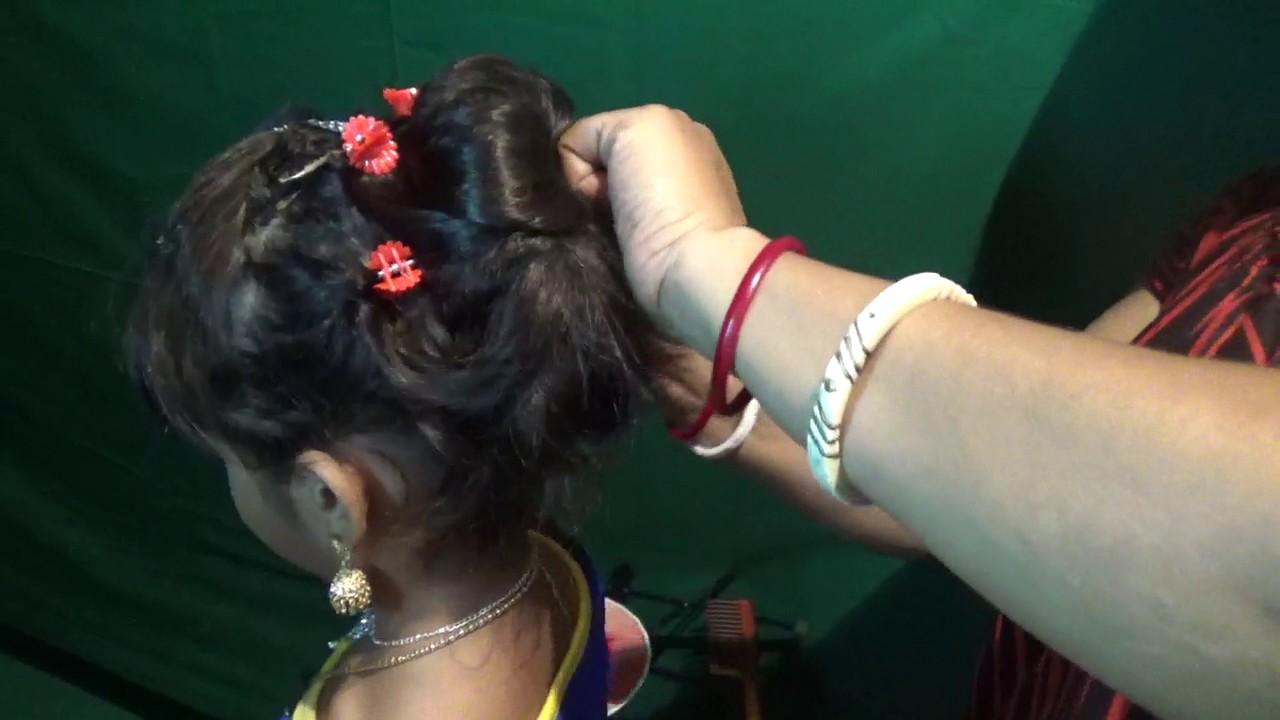 Hair Stile Khopa Badha Youtube