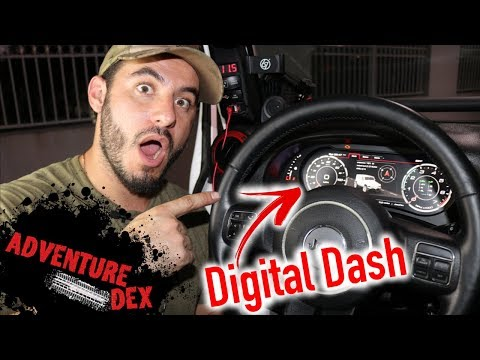 The Coolest Jeep Accessory EVER!? ~ Carobotor J-Pro Digital Dash