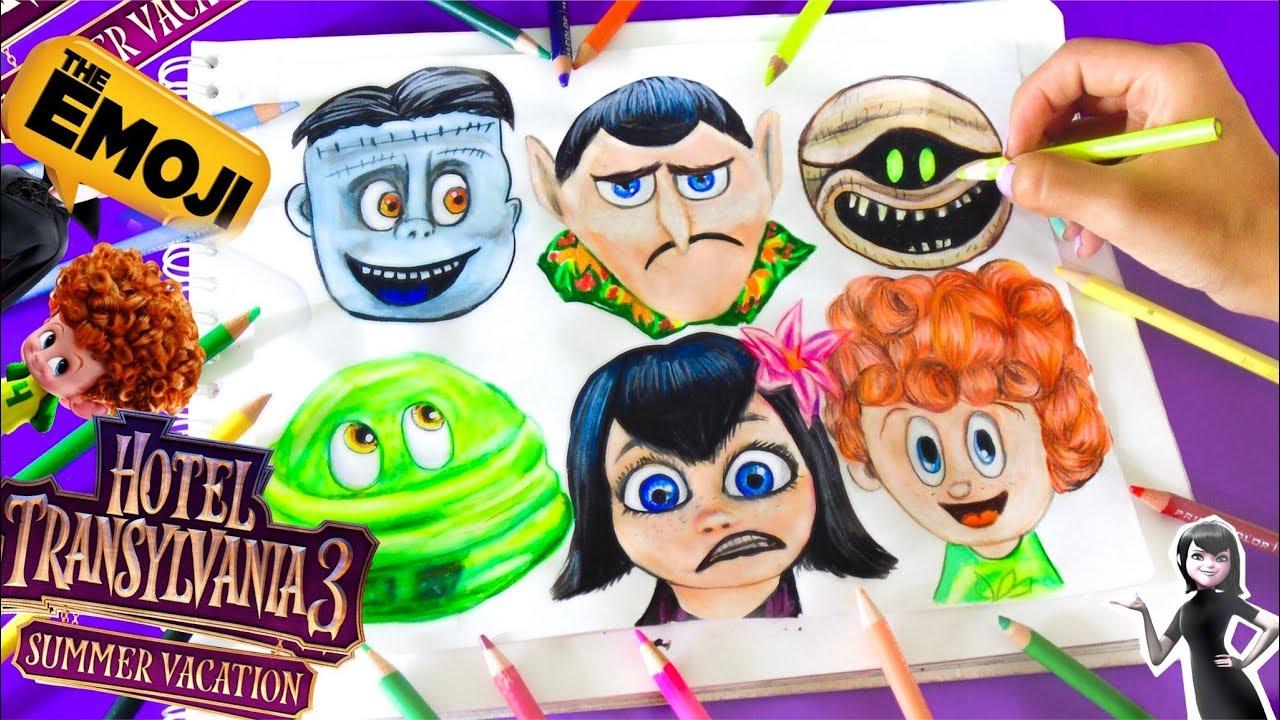 Dibujando Emojis De Hotel Transylvania 3 Hotel Transylvania 3vane V Art