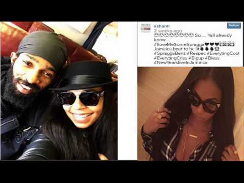 "Foxy Brown shades Ashanti on Instagram over pic with Spragga Benz! Female rapper calls he ""D Rider""!"