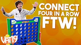 Giant Connect Four-In-A-Row Game