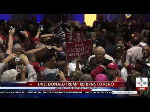 Attentat auf Donald Trump in Reno USA - 06.11.2016