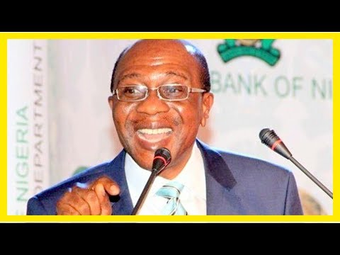 US Newspapers - Violating laws, cbn governor emefiele illegally operates secret companies in tax ha