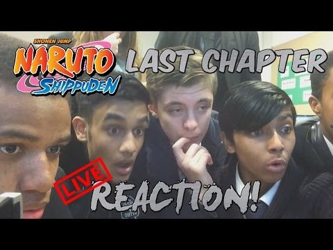 NARUTO Shippuden Manga - LAST CHAPTER (700) LIVE REACTION! - Part 3 ...