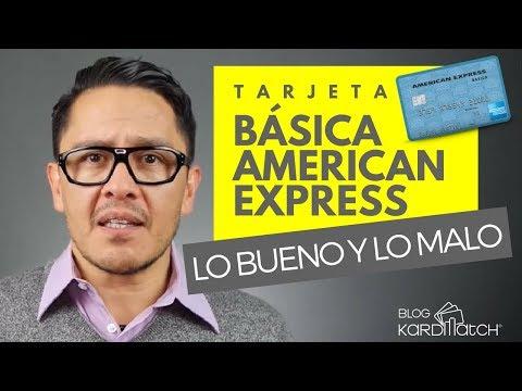 ☝️Tarjeta de Crédito Básica de American Express: Lo Bueno y Lo Malo