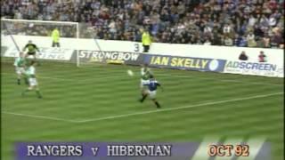 Season 1992-93 - Rangers Vs Hibernian (17th October 1992)