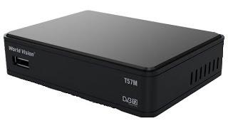 DVB-T2 Тюнер (ресивер) Т2 World Vision T57 (T57M) - обзор и настройка(, 2016-03-27T14:03:12.000Z)