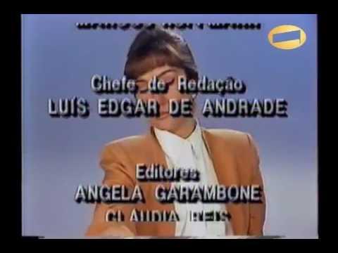 Abertura Edição da Tarde - 1993 / Rede Manchete
