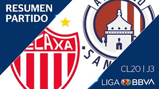 Resumen y Goles | Necaxa vs San Luis | Jornada 3 - Clausura 2020 | Liga BBVA MX