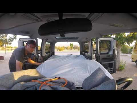 Honda Element Driving Mode to Camping Mode (2x Speed)