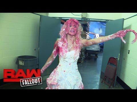 A cake-splattered Lana plots her revenge against Roman Reigns: Raw Fallout, Aug. 8, 2016