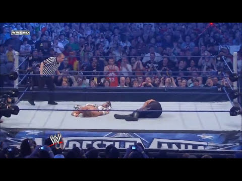 Undertaker Vs HBK - Wrestlemania 25 HD 720p - Español Latino.mp4