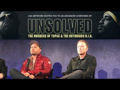 Greg Kading & Anthony Hemingway Q&A  NYC Screening of UNSOLVED: Murders of Tupac & Notorious B.I.G.