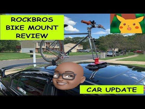 Rockbros Suction Cup Bike Mount Review