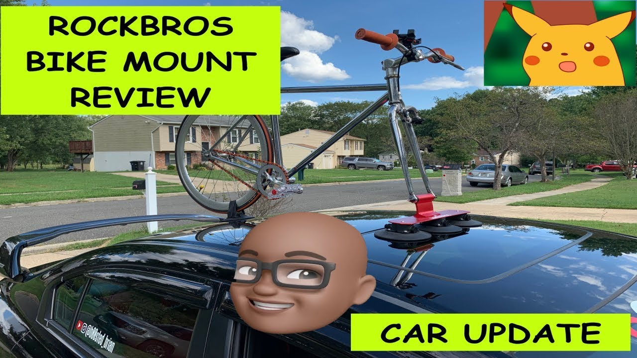 Rockbros Suction Cup Bike Mount Review Youtube