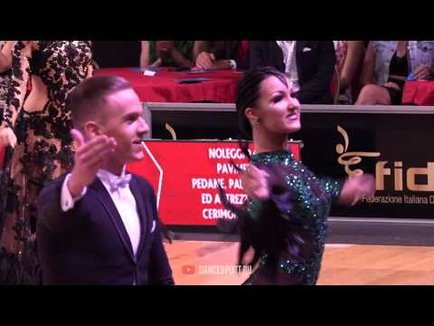 Evgeny Sveridonov - Angelina Barkova RUS, English Waltz, WDSF GrandSlam Standard 2019